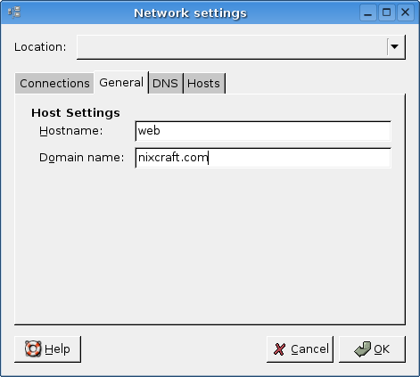 Linux setting hostname and domain name of my server - nixCraft
