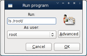 Linux gksu: Run Command As Root User Using Gnome GUI