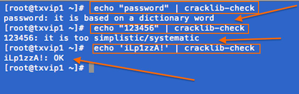 HowTo: Linux Check Password Strength With Cracklib-check