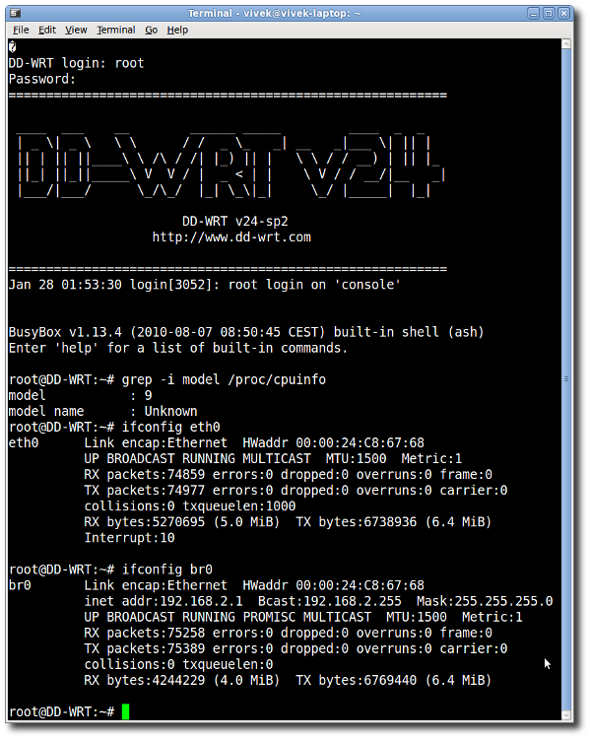 Linux Unix Screen Command For Serial RS232