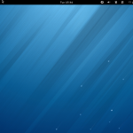 Fig.01: Fedora Linux 18 Default Desktop Screenshot