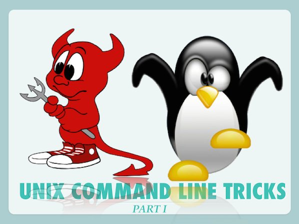 My Unix/Linux/maCOS command line tricks part I