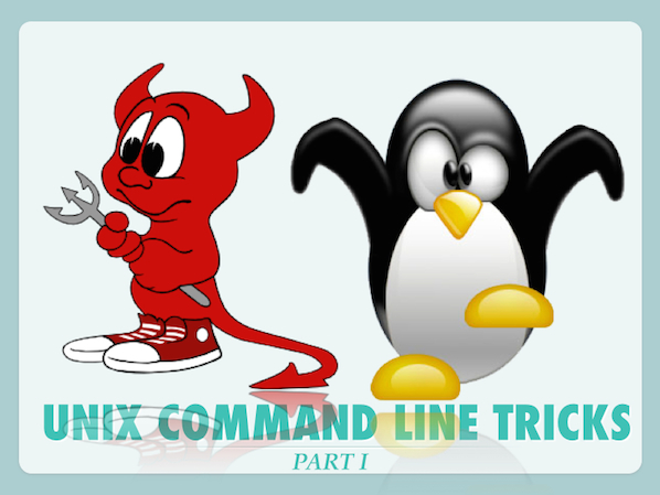 20 Unix/Linux Command Line Tricks - Part I