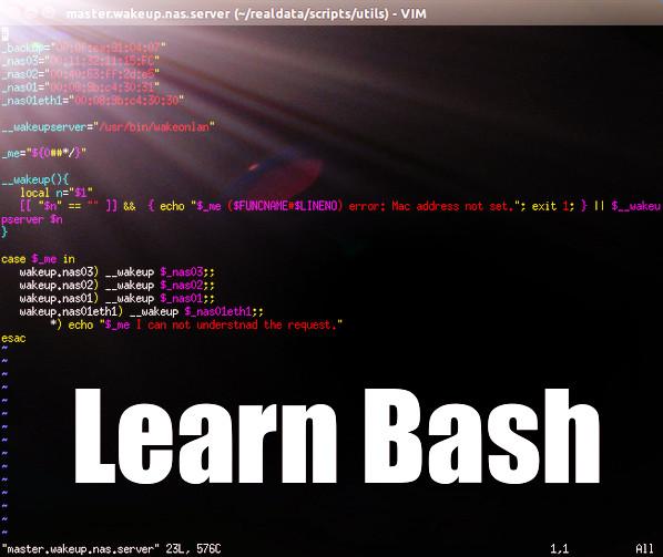 Learn bash