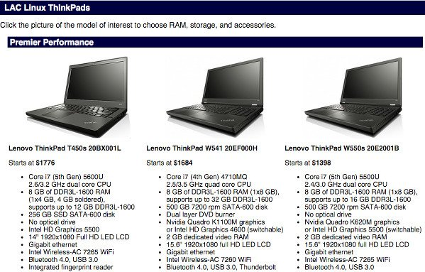 LAC Portland linux laptop preloaded