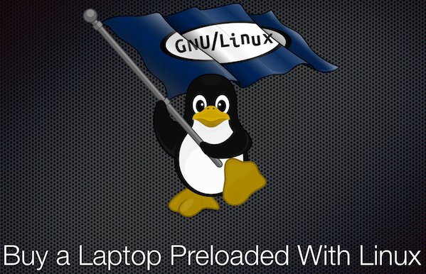 Linux preloaded laptop