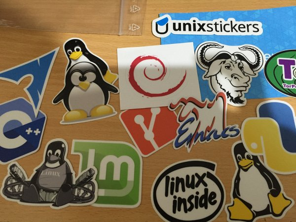 Stickers collections to my laptop