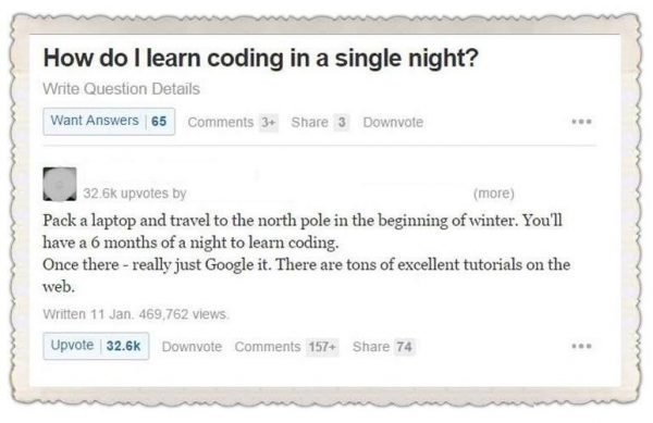 How do I learn coding in a single night?