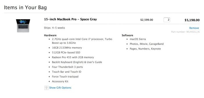 Here is how you can order a MacBook Pro 2016 edition with 32 GB RAM ;)