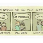 Hey Linux user: Where did you two meet?