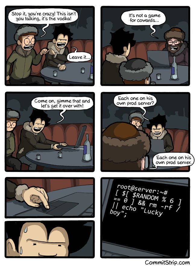 Russian roulette comic