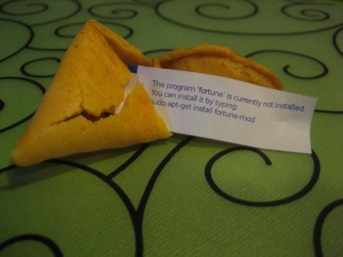 sudo apt install fortune-mod