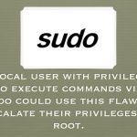 Linux security alert: Bug in sudo's get_process_ttyname() [ CVE-2017-1000367 ]