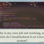I put a cronjob in /etc/cron.{hourly,daily,weekly,monthly} and it does not run and how can I troubleshoot it?