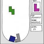 Linux/Unix desktop fun: Bastet Tetris(r) clone with block-choosing AI for console