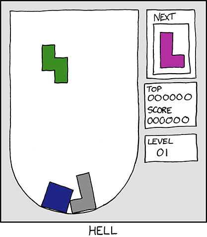 Xkcd - hell