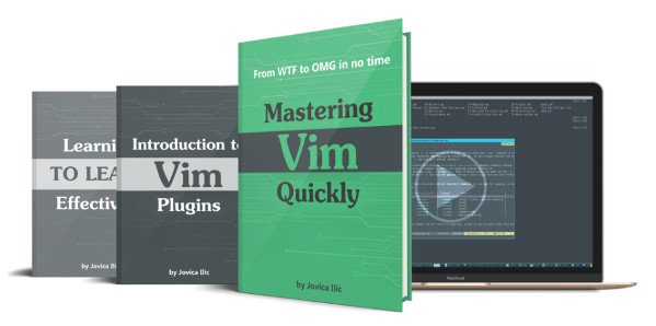 Book review: Mastering Vim Quickly From WTF to OMG in no time