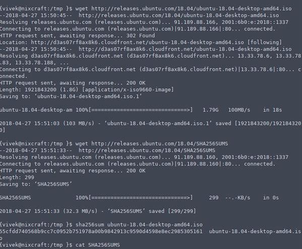 how to download ubuntu 18 manually