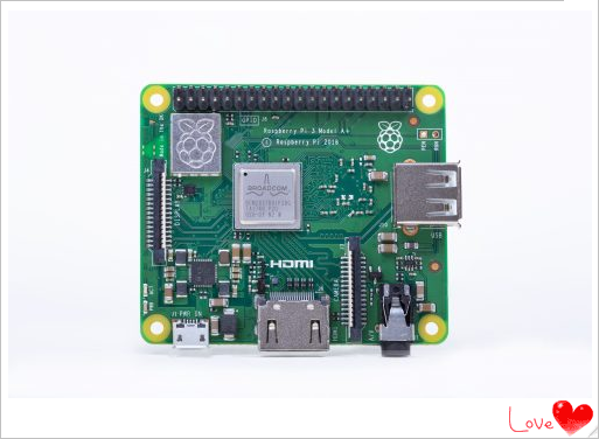 Raspberry $25 Pi 3 Model A+ Linux SBC Released