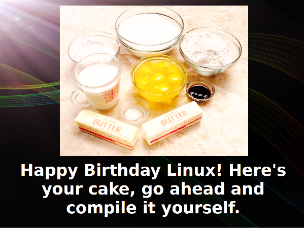Linux celebrates 28th birthday
