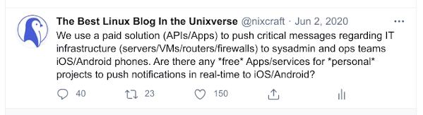 ios push twitter thread