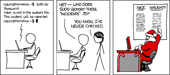 sudo incident