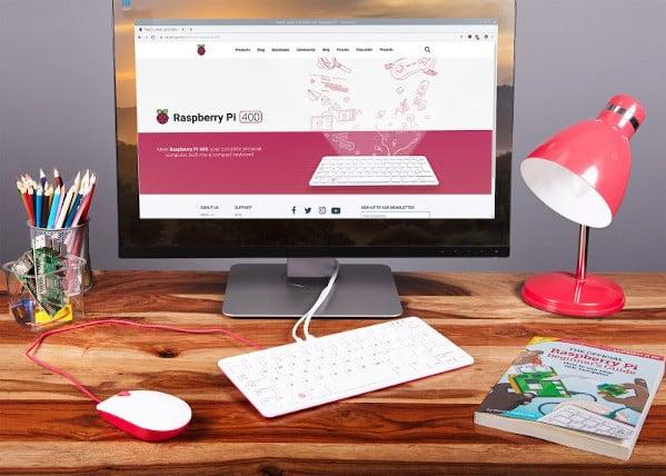 Raspberry Pi 400 Desktop PC