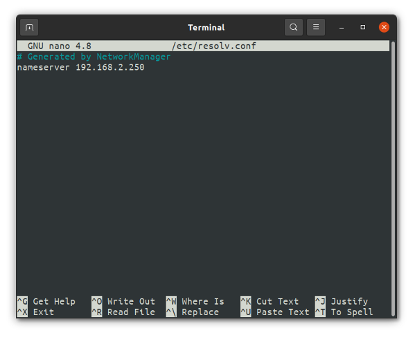 GNU nano CLI text editor for new Linux users