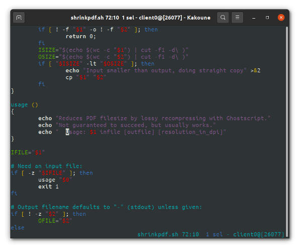 Kakoune CLI text editors for linux macos Unix bsd users