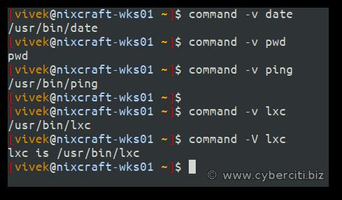 Utilidad de comando de Linux para encontrar la ruta de un comando de Linux