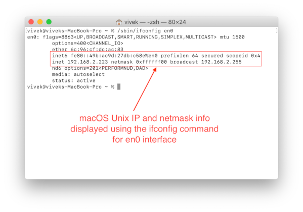 Determine Your Private and Public IP Addresses from the Bash Command Line