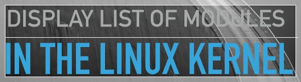 List drivers in the Linux kernel