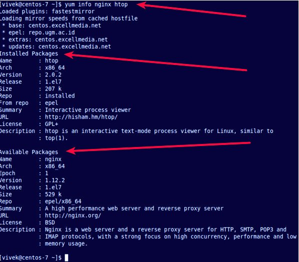 How to use yum command on CentOS/RHEL - nixCraft