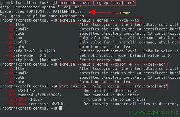 How to Grep for Multiple Patterns on Linux and Unix