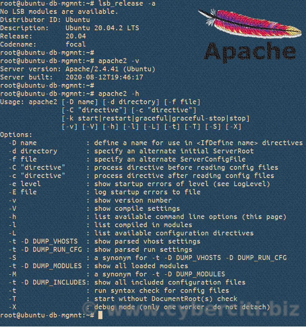 How to Check the Apache Version on Linux or Unix