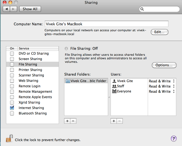 How to Set Up Internet Sharing on Mac