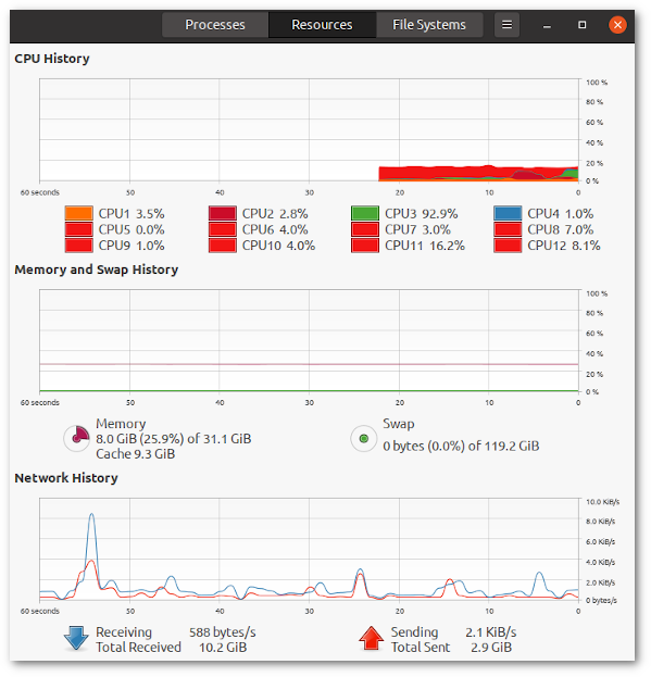 How to check RAM size on Ubuntu Linux