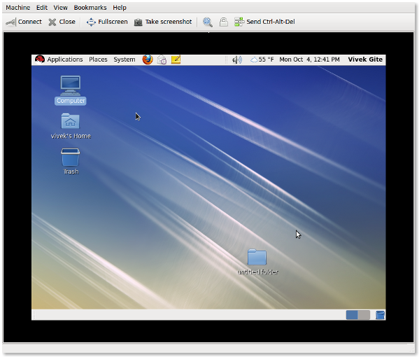 KVM Virtualization: Start VNC Remote Access For Guest Operating