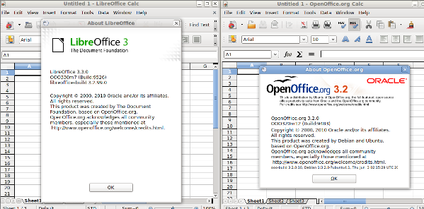 Fig.04: OpenOffice.Org vs LibreOffice
