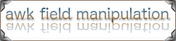 awk field manipulation