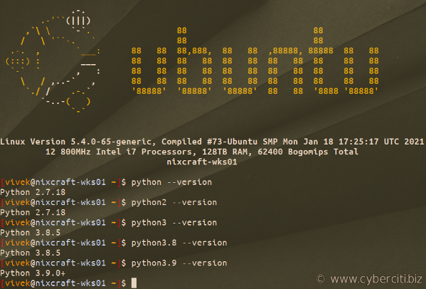 How to Install Python 2.x or 3.x on Ubuntu and Debian Linux