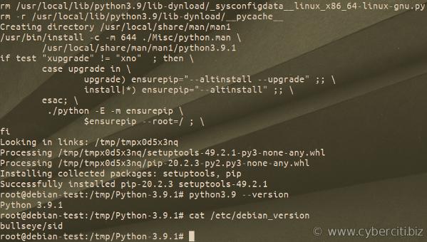 How to Install Python 3.9 on Ubuntu or Debian 10 or 11