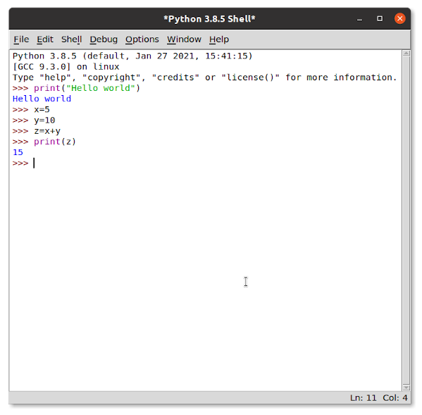 How to install Python IDLE IDE on Linux and start it on Ubuntu