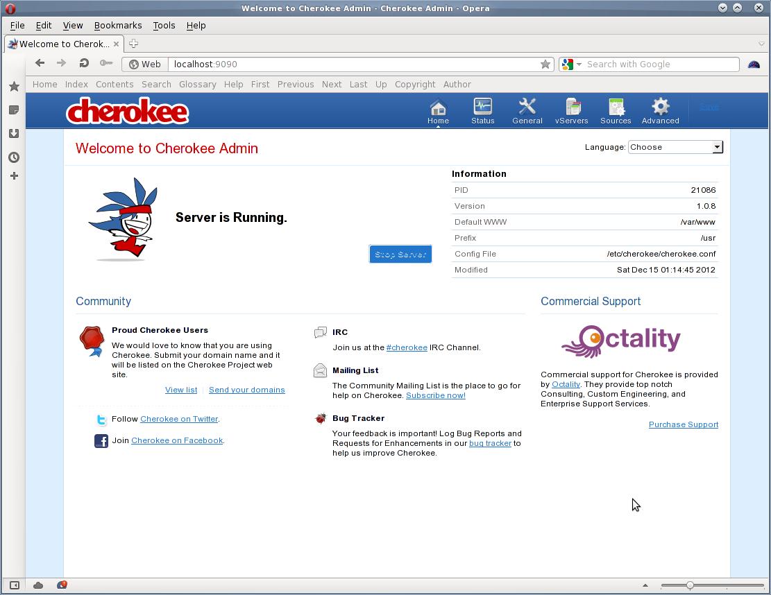 Debian  Ubuntu Linux Install Cherokee Web Server  Nixcraft. Cnc Programmer Resume. How To Convert Military Experience Into Civilian Resume. Resume Referee Sample. Creative Resume Templates Word Free. Administrative Specialist Resume. Retail Merchandiser Resume Sample. Software Resume Examples. Sap Fico Resume Sample Pdf