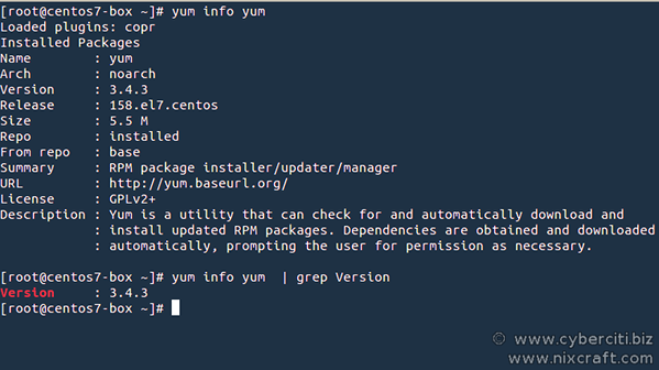 CentOS / RHEL See Detailed History Of yum history Commands