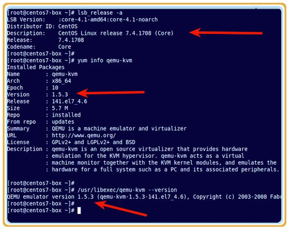 How to check KVM (qemu-kvm) version on Linux - nixCraft