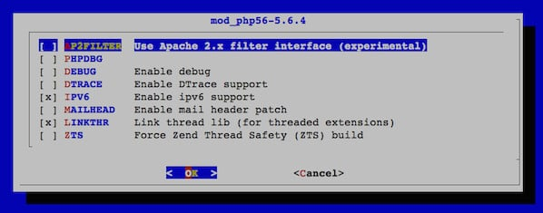 Fig.06: Install mod_php for Apache
