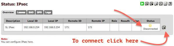 Fig 09: Current IPSec Status