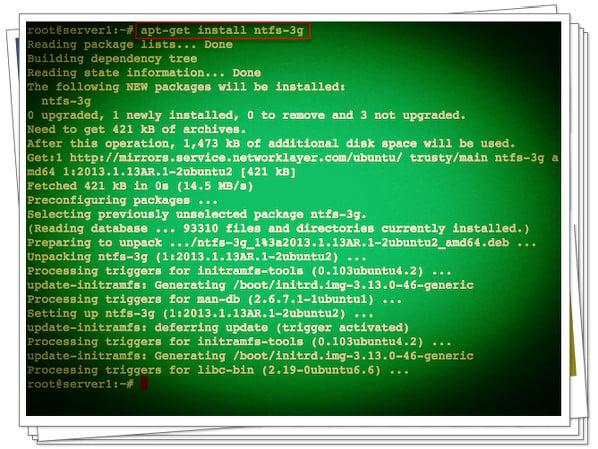 HowTo Debian/Ubuntu Linux Auto Mount Windows NTFS File System [ntfs