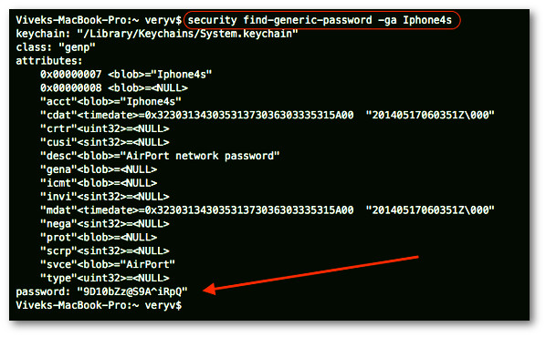 Fig.02: OS X AirPort network password